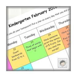 英語でお勉強。双子のKindergarten。February 2nd half 2016