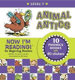 楽しく英語の本読みを始めよう Animal Antics by Nora Gaydos