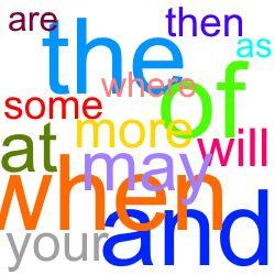 英語で一番使われている100個の単語 SIGHT WORDS